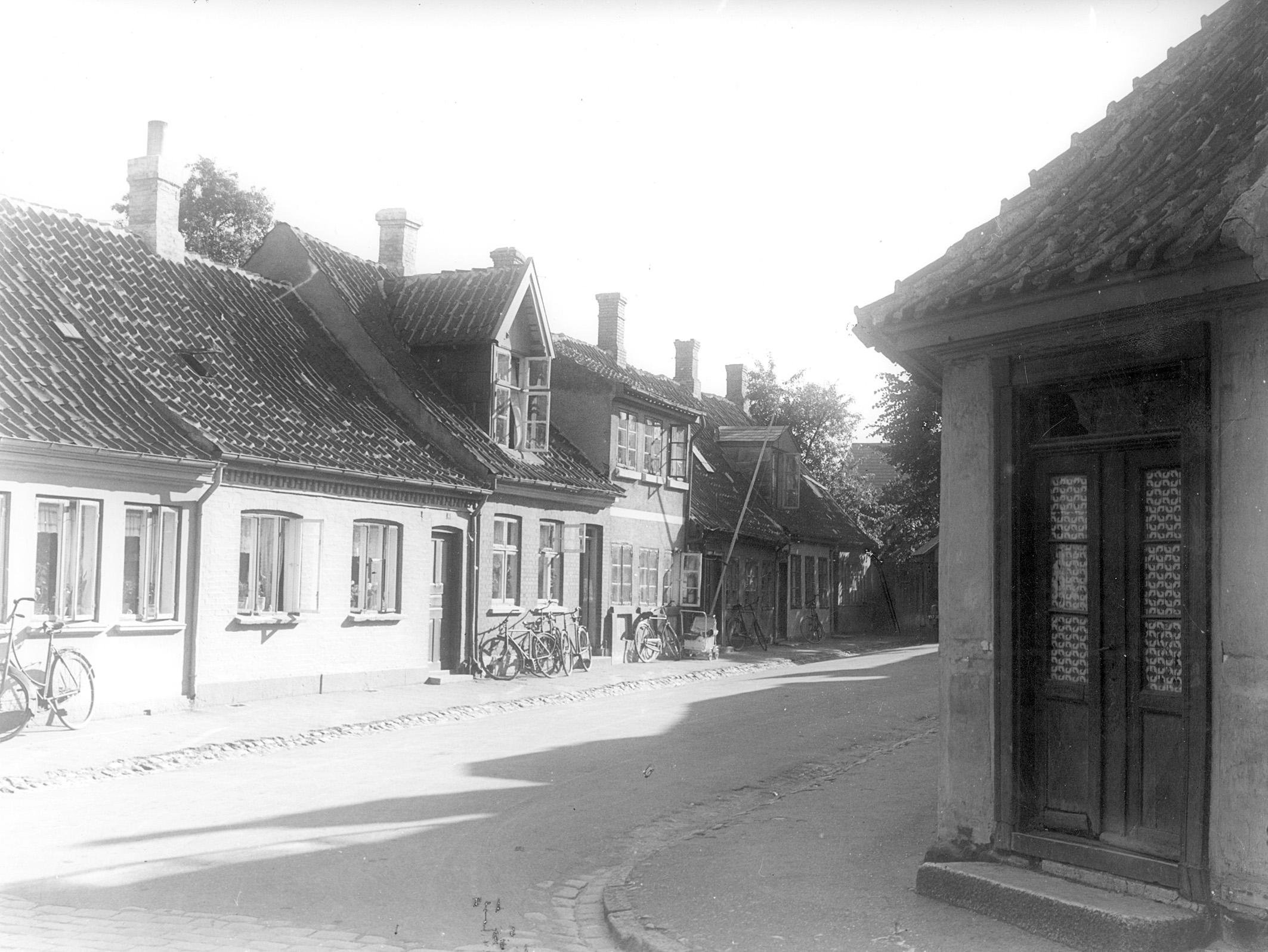 Rosengade set fra Ramsherred i 1935