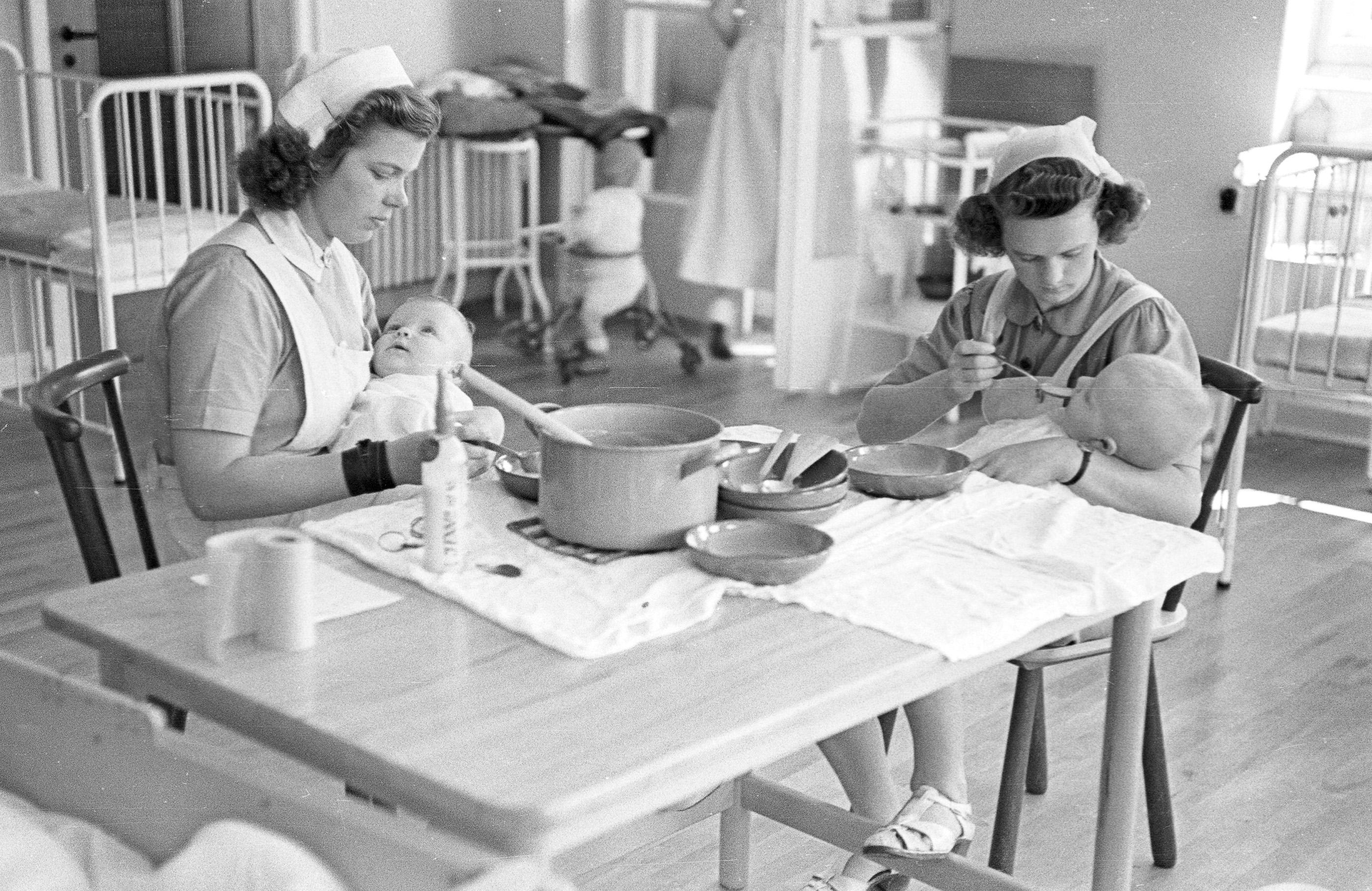 Sct. Georgshjemmet, juli 1944.